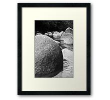 Rocks: Mosman Gorge Far North Queensland Framed Print