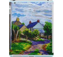 'A Turn on Town Lane,  Mullaghdubh, Islandmagee, County Antrim.' iPad Case/Skin