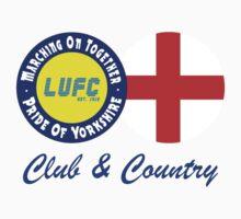 Club & Country - Leeds & England by MOTLeedsUnited