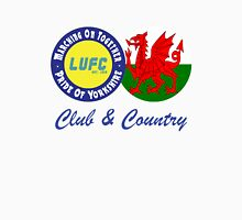 Club & Country - Leeds & Wales Unisex T-Shirt
