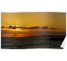 Paphos Sunset Poster