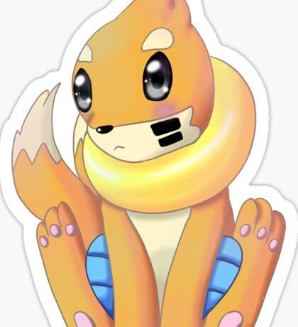 Mustebouee pokémon Sticker