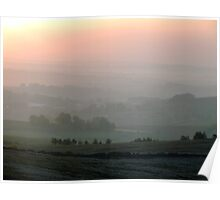 Sunrise Over Buxton Poster