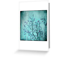 pink berries Greeting Card