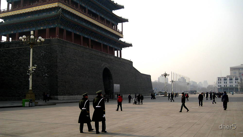 Tiananmen Square by dher5
