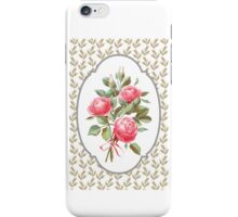 bouquet of three roses iPhone Case/Skin