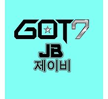 GOT 7 JB Photographic Print