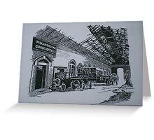Midland Railway Goods Office Greeting Card