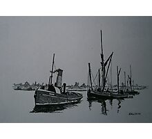 Sail and Steam Photographic Print