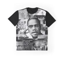 malcome x Graphic T-Shirt