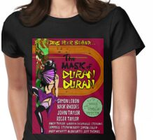 The Mask of Duran Duran Womens Fitted T-Shirt