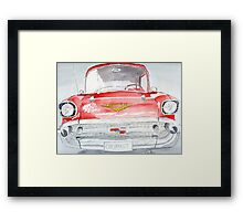 Chevrolet 1950's Framed Print