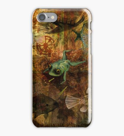 Swimming Against the Tide iPhone Case/Skin