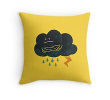 Sombre Weather Throw Pillow