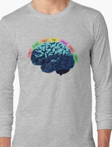 My Brain Has Too Many Tabs Open Long Sleeve T-Shirt