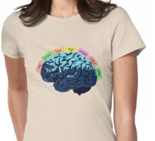 My Brain Has Too Many Tabs Open Womens Fitted T-Shirt