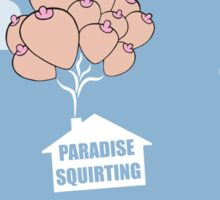 Paradise Squirting Sticker
