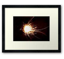 Big bang theory Framed Print