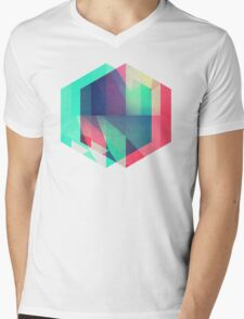 hyx^gyn Mens V-Neck T-Shirt