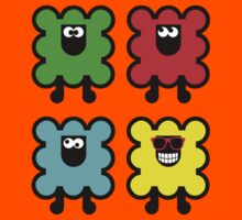 Sheepish Colors Kids Tee