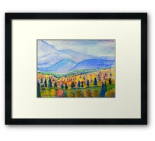 Autumn Sunday Framed Print