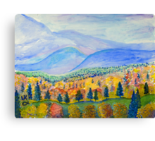 Autumn Sunday Canvas Print