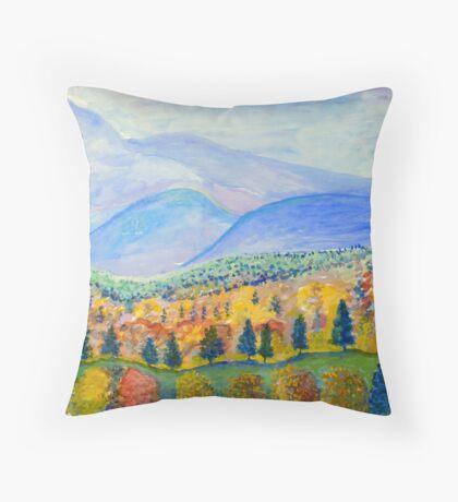 Autumn Sunday Throw Pillow