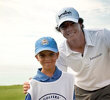 My Grandson and Rory Mcilroy by buddybetsy