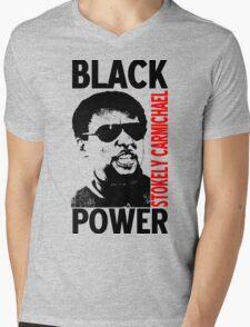 Stokely Carmichael-Black Power Mens V-Neck T-Shirt