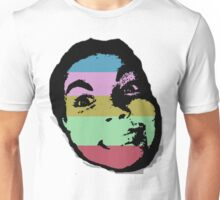Stripy Face Unisex T-Shirt