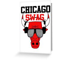 Chicago Swag Greeting Card