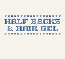 Cross Stitch - Half Backs & Hair Gel - Blue/Natural by rugbygifts