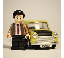 Mr Bean Photographic Print