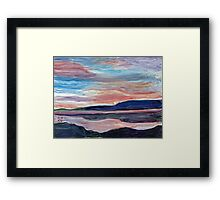 Local Sunrise Framed Print