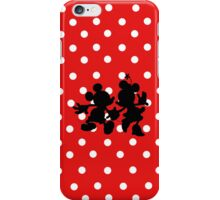 Minnie and Mickey  iPhone Case/Skin