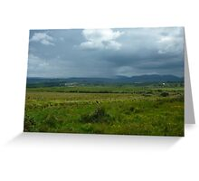 Colours of the Emerald Isle Greeting Card