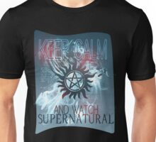 KEEP CALM AND WATCH SUPERNATURAL Unisex T-Shirt
