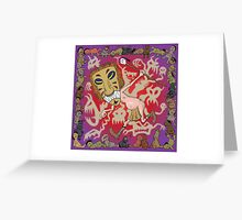 voodoo man Greeting Card