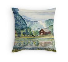 Summer Reflection Throw Pillow