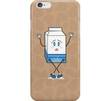 Don't cry over spilt milk. iPhone Case/Skin