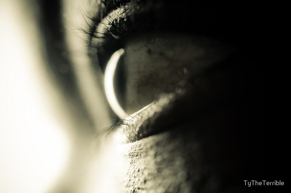 Macro Eye  by TyTheTerrible