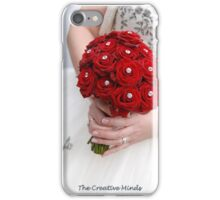 Bridal Bouquet ~ Red Roses  iPhone Case/Skin