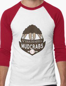 Vvardenfell Mudcrabs Men's Baseball ¾ T-Shirt