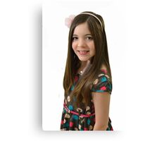 Ten year old girl Canvas Print
