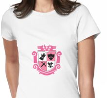 Hyland Kingdom Crest Womens Fitted T-Shirt