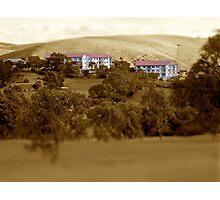 Wirinna Golf Course units Photographic Print