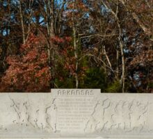 Gettysburg National Park - Arkansas Memorial Sticker