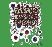 Eyeballs Eyeballs Everywhere! One Piece - Short Sleeve
