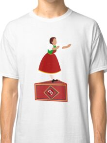Girl on the music box Classic T-Shirt