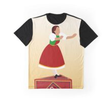 Girl on the music box Graphic T-Shirt